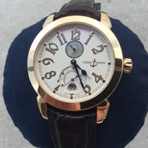 Ulysse Nardin Red gold Automatic White Arabic numerals 40mm pre-owned