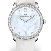 Girard Perregaux 1966 30MM White Gold Dial Mother-of-pearl...