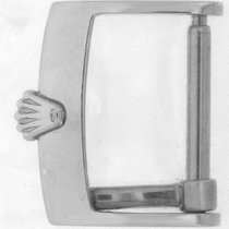 Rolex stainless steel 16mm tang buckle.