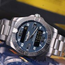 Breitling Aerospace Evo Titanium Quartz Blue Dial