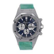 Audemars Piguet Royal Oak Chronograph 41 Steel Blue Dial