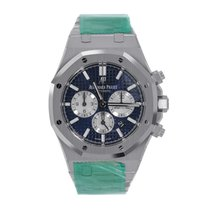 Audemars Piguet Royal Oak Chronograph 41mm Steel Blue Dial Watch