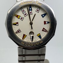 Corum Admiral's Cup (submodel) occasion 36mm Blanc Date Acier