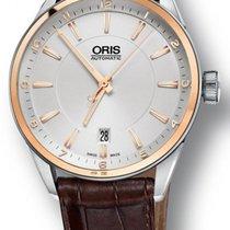 Oris Artix Date Automatic Steel & 18kt Gold Mens Strap Watch...