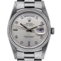 Rolex 18206 Platinum Presidential Day-Date Mens Watch