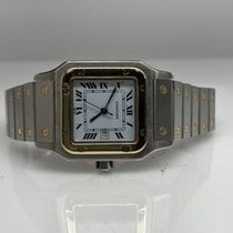 Cartier Santos Galbée Gold/Steel 29mm Silver Roman numerals United States of America, New York, New York