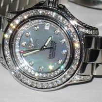 Breitling Colt Oceane Steel 34mm Mother of pearl No numerals United States of America, New York, NEW YORK CITY