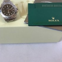 Rolex Explorer II , Year 2009, Ref 16570. Rehaut. Engraved Bezel.