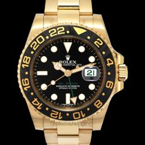 Rolex GMT-Master II Yellow gold 40mm Black United States of America, California, San Mateo