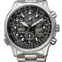 Citizen Titanium 45mm Chronograph JY8020-52E new