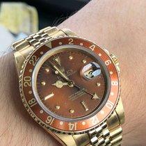 Rolex GMT Master Ref. 16758 Nipple Brown Dial von 1983