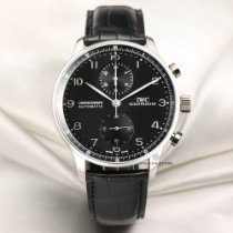 IWC IW371413 White gold 2011 Portuguese Chronograph 40mm pre-owned
