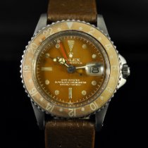 Rolex 1675 Steel 1963 GMT-Master 40mm pre-owned