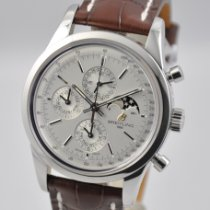 Breitling Transocean Chronograph 1461 Steel 43mm Silver United States of America, Ohio, Mason