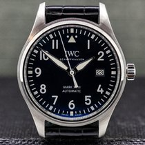 IWC Pilot Mark Steel 40mm Blue Arabic numerals United States of America, Massachusetts, Boston