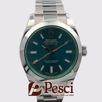 Rolex Milgauss 116400GV 116400 GV 2014 pre-owned
