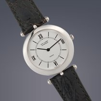Van Cleef & Arpels Platinum 30mm Manual winding 92140 pre-owned