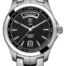 TAG Heuer Link Calibre 5 Steel 42mm Black United States of America, California, Simi Valley