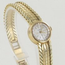 Dugena Yellow gold 17mm Manual winding 1241 pre-owned