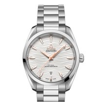 Omega Steel Automatic Silver 38mm new Seamaster Aqua Terra