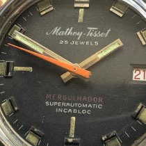 Mathey-Tissot Steel 38mm Automatic pre-owned United States of America, New Jersey, Cranford