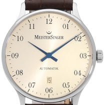 Meistersinger Steel 42mm Automatic MM103 pre-owned