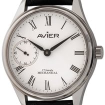 Avier Steel 43mm Manual winding EM.S01 new United States of America, Texas, Austin