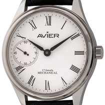 Avier Steel 43mm Manual winding EM.S01 new