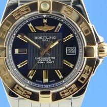 Breitling Galactic 32 Acero y oro 32mm Negro