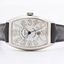 Franck Muller pre-owned Automatic 39mm Silver Sapphire crystal Not water resistant