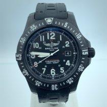 Breitling Carbon Quartz Black Arabic numerals 45mm pre-owned