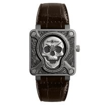 Bell & Ross BR 01-92 BR0192-SKULL-BURN new
