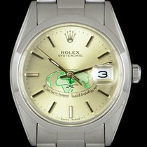 Rolex Oyster Precision Steel 34mm Champagne