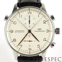 IWC Portuguese Chronograph Acero Plata Arábigos
