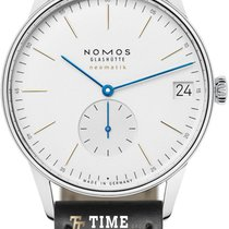 NOMOS Orion Neomatik Staal 40.5mm Wit