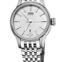 Oris Artelier Date Diamonds Steel/Diamonds Steel Bracelet