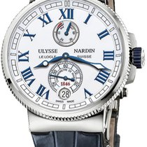 Ulysse Nardin Marine Chronometer Manufacture Titanium White United States of America, New York, Brooklyn