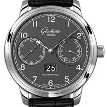 Glashütte Original Senator Observer Steel 44mm Grey United States of America, New York, Airmont