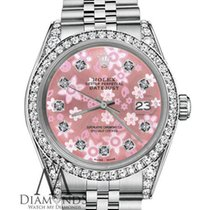 Rolex Woman's Rolex Datejust 36mm Stainless Steel Pink...