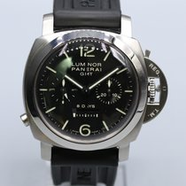 Panerai Luminor 1950 8 Days Chrono Monopulsante GMT pre-owned Rubber