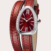 Bulgari Serpenti 27mm Quartz Red Dial
