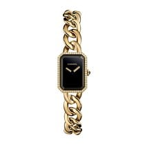 Chanel new Quartz 16mm Yellow gold