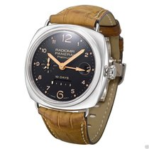 Panerai PAM00495 Radiomir 10 Days GMT Platinum PAM 495 NEW...