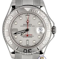 Rolex Yacht-Master Mid-Size Platinum Stainless 35mm 168622 Date