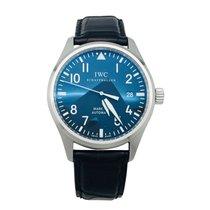"IWC Stainless steel IWC watch, ""Mark XVI"" modele, leather..."
