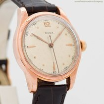 Doxa Rose gold Manual winding Arabic numerals 33mm pre-owned