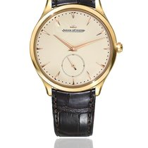 Jaeger-LeCoultre Yellow gold Automatic White No numerals 40mm pre-owned Master Grande Ultra Thin
