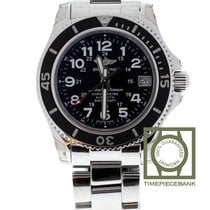 Breitling Superocean II 36 Steel 36mm Black Arabic numerals