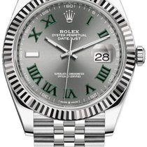 Rolex Datejust Acier 41mm Gris France, Paris