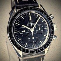Omega Chronograph 42mm Handaufzug 1968 gebraucht Speedmaster Professional Moonwatch Schwarz